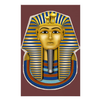 Materia de rey Tut Mask Costume Tees n Papeleria Personalizada