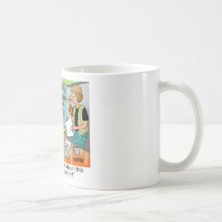 Materia de trueque del regalo taza de café