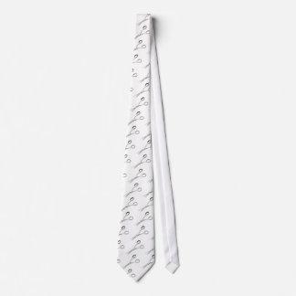 Materia del estilista corbata personalizada