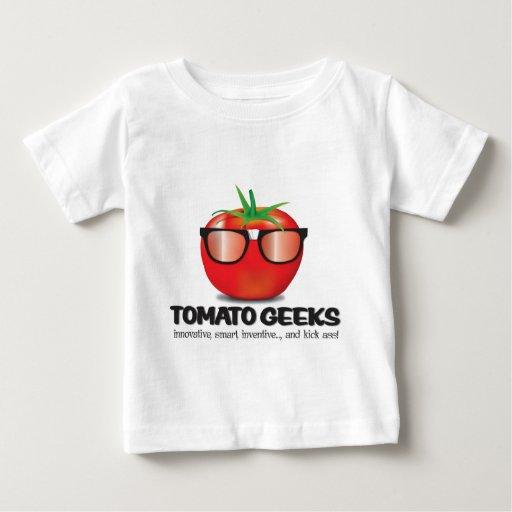 Materia del friki del tomate playeras