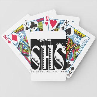 Materia del logotipo de SHS Cartas De Juego