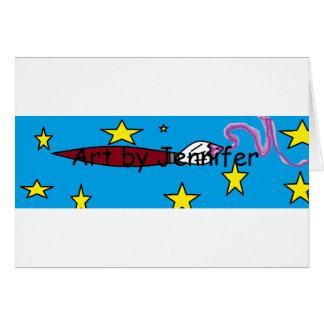 Materia del logotipo tarjeta de felicitación