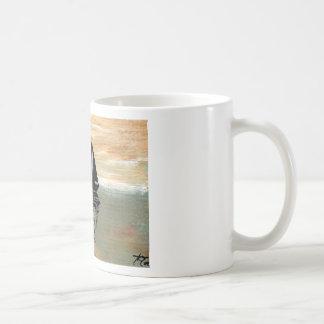 Materia del océano de CricketDiane de las reflexio Tazas De Café