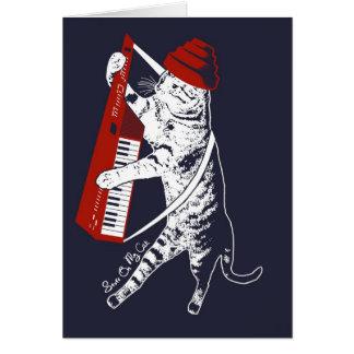 materia en mi gato - keytar tarjeta
