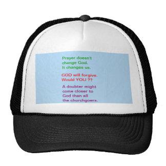 Materia en que pensar: Palabras de la sabiduría pr Gorras