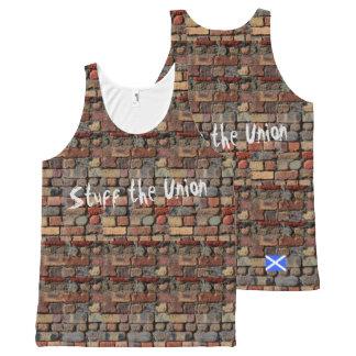 Materia escocesa de la independencia el chaleco de