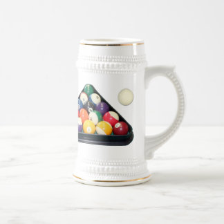 Materia fresca de la piscina jarra de cerveza
