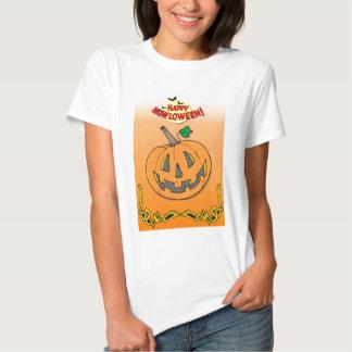 Materia fresca para Halloween Camisas