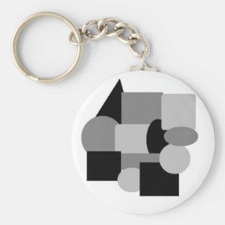 materia gris 2 llavero redondo tipo pin