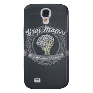 ¡Materia gris, es qué importa más!