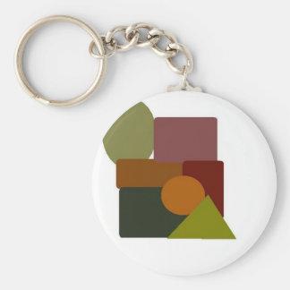 materia marrón 2 llavero redondo tipo pin
