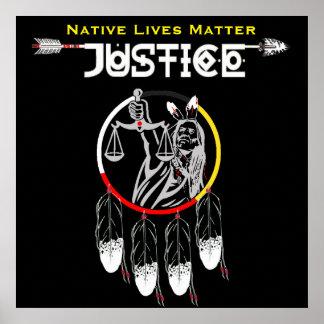 Materia nativa de las vidas: Movimiento de la Póster