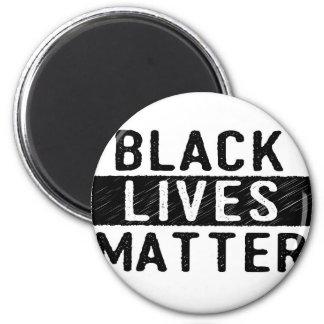 Materia negra de las vidas - diseño intrépido - imán redondo 5 cm