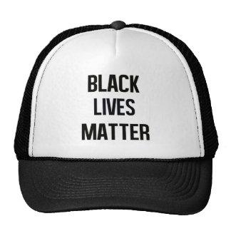 Materia negra de las vidas gorra