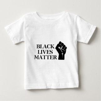 Materia negra de las vidas playera de bebé