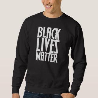 Materia negra de las vidas pullover sudadera