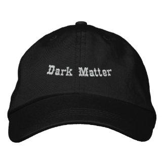 Materia oscura gorros bordados