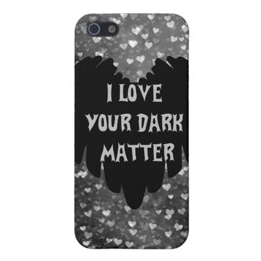 Materia oscura iPhone 5 cárcasa