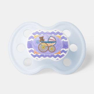 Materia púrpura del bebé de Sun Chupetes Para Bebés