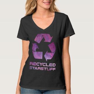 Materia reciclada de la estrella playera