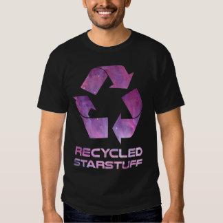 Materia reciclada de la estrella remera