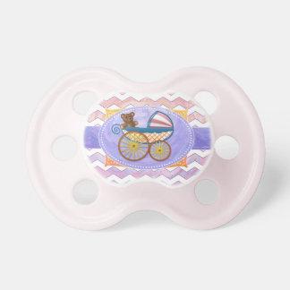Materia rosada y Stinky del bebé Chupete De Bebé
