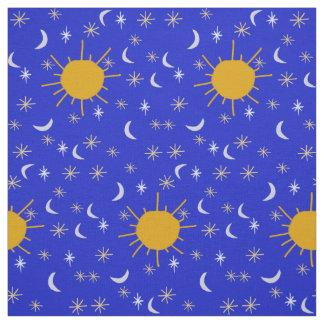 Materia textil adorable de la astronomía de los telas