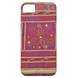 Materia textil afgana del boda iPhone 5 funda