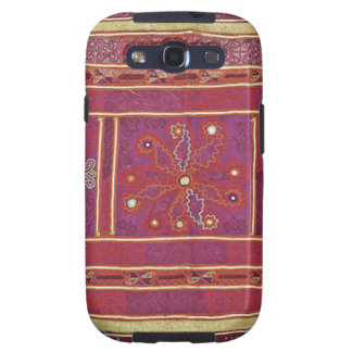 Materia textil afgana del boda galaxy SIII cárcasa