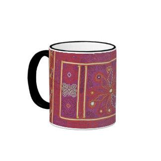 Materia textil afgana del boda tazas de café
