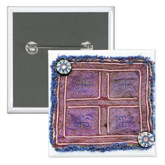 Materia textil afgana del vintage: Púrpura Pin