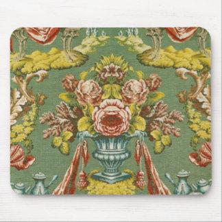 Materia textil con un adorno floral de repetición alfombrilla de ratones