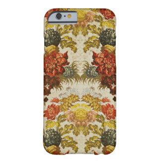 Materia textil con un estampado de flores de funda barely there iPhone 6