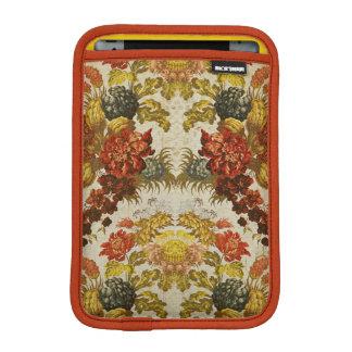 Materia textil con un estampado de flores de funda iPad mini