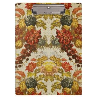 Materia textil con un estampado de flores de repet