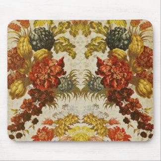 Materia textil con un estampado de flores de repet alfombrilla de ratones
