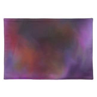 Materia textil de Cloudscape DK del collage o del  Mantel Individual