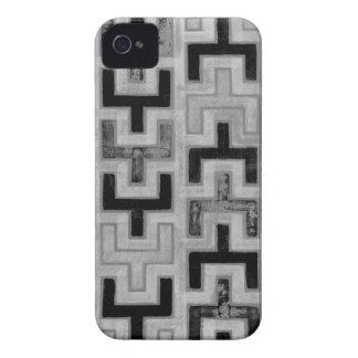 Materia textil de Mudcloth del africano con los Case-Mate iPhone 4 Cárcasas