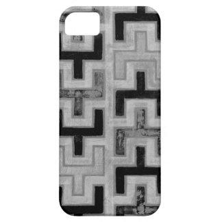 Materia textil de Mudcloth del africano con los iPhone 5 Protectores