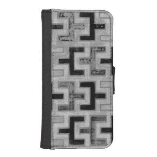 Materia textil de Mudcloth del africano con los Cartera Para iPhone 5