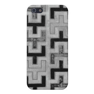 Materia textil de Mudcloth del africano con los iPhone 5 Coberturas