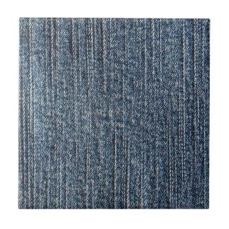 Materia textil del dril de algodón de los tejanos azulejos