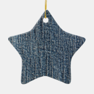 Materia textil del dril de algodón de los tejanos adorno de cerámica en forma de estrella