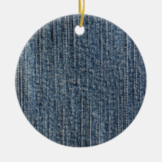 Materia textil del dril de algodón de los tejanos adorno redondo de cerámica