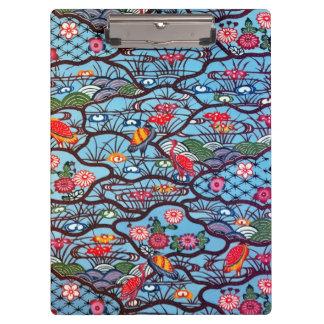 Materia textil japonesa del kimono del vintage