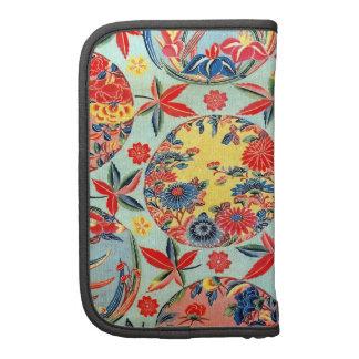 Materia textil japonesa del kimono del vintage (Bi Organizador