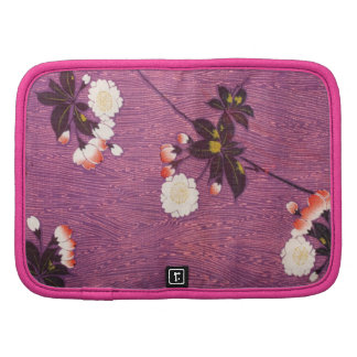Materia textil japonesa del kimono del vintage, fl organizador