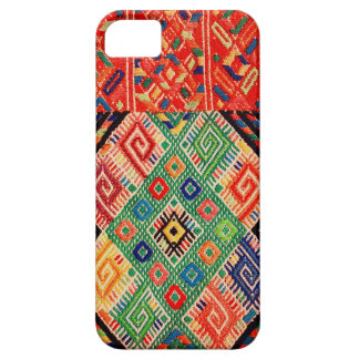 Materia textil tejida nativa iPhone 5 Case-Mate protector