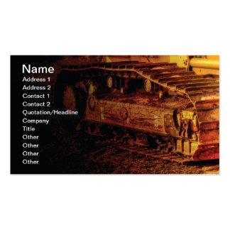 material de construcción resistente grande plantilla de tarjeta de negocio