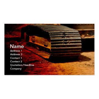 material de construcción resistente tarjeta de visita